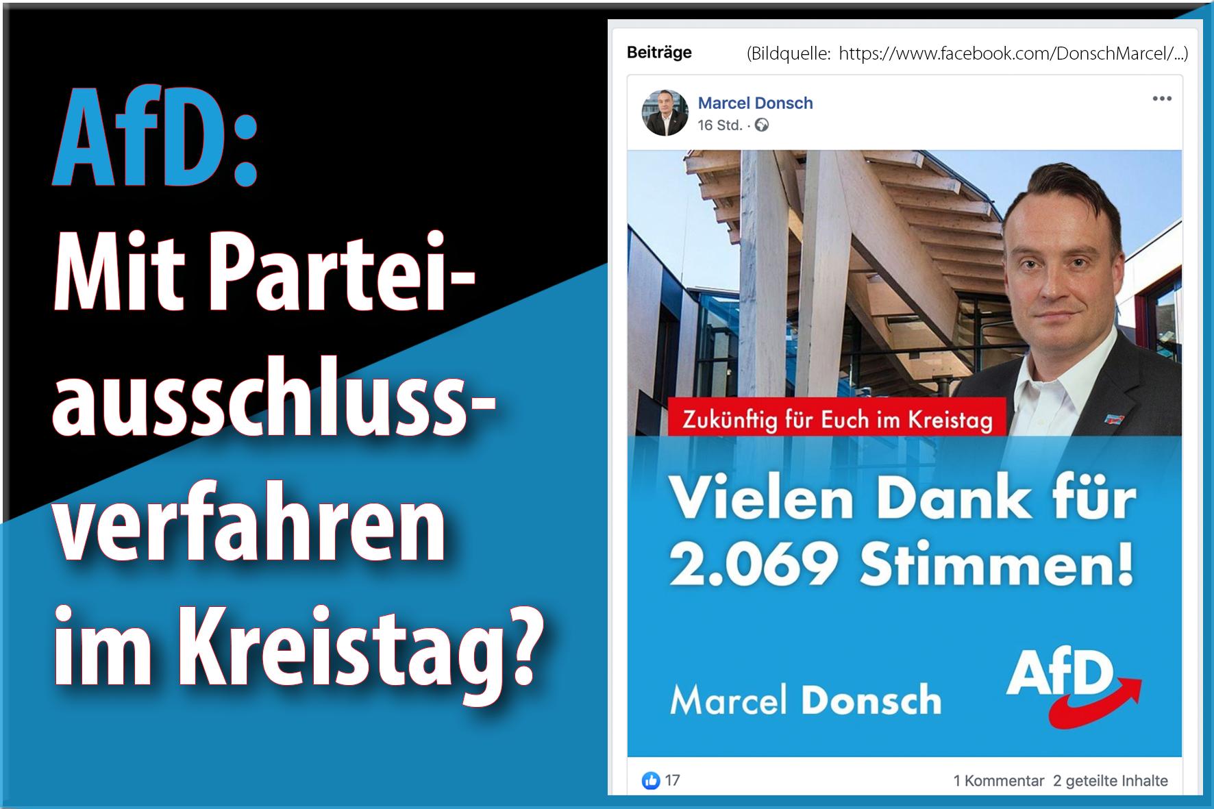 AfD: Mit Parteiausschlussverfahren (PAV) im Kreistag?