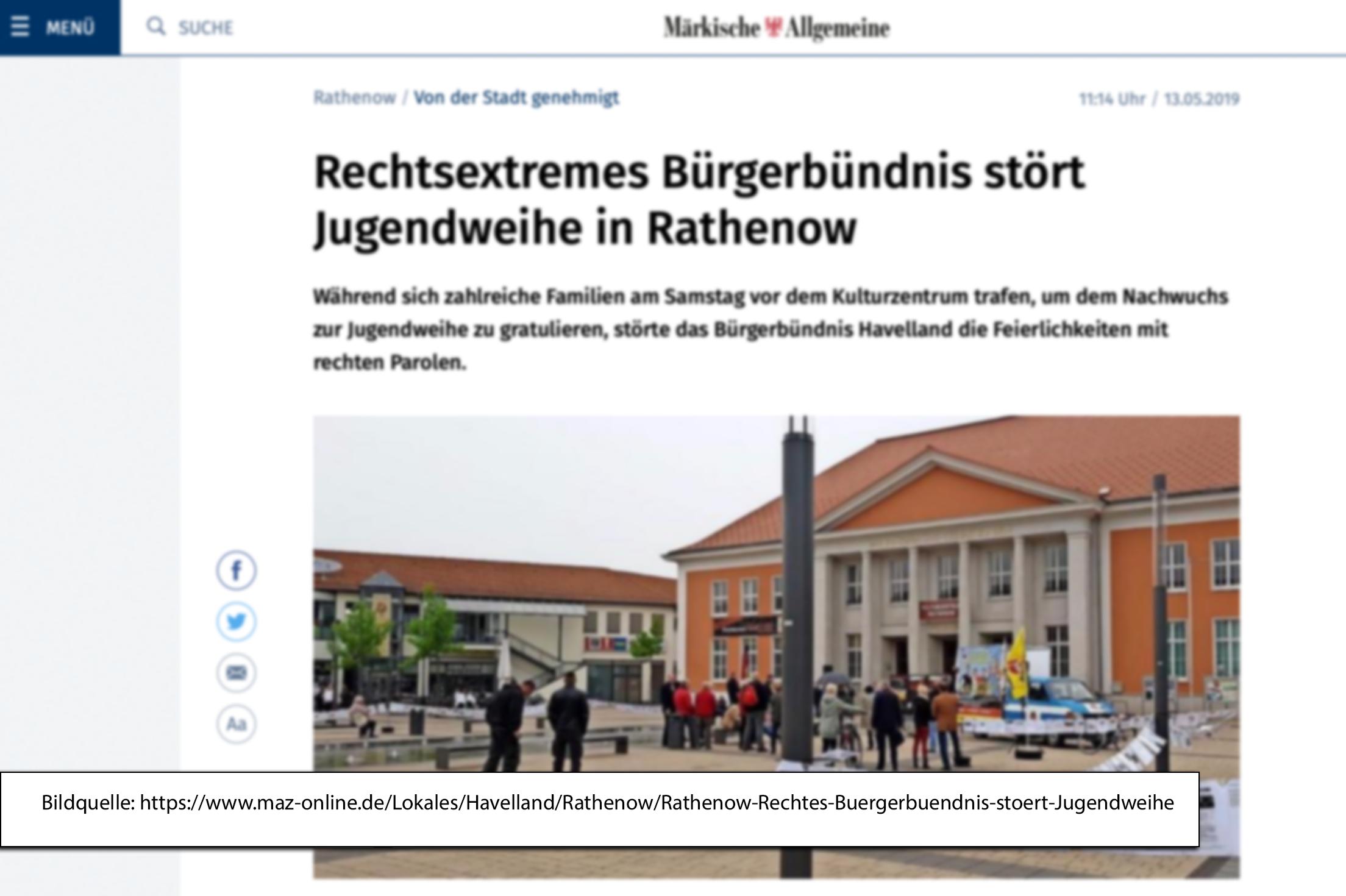 Märkische Allgemeine Fragen