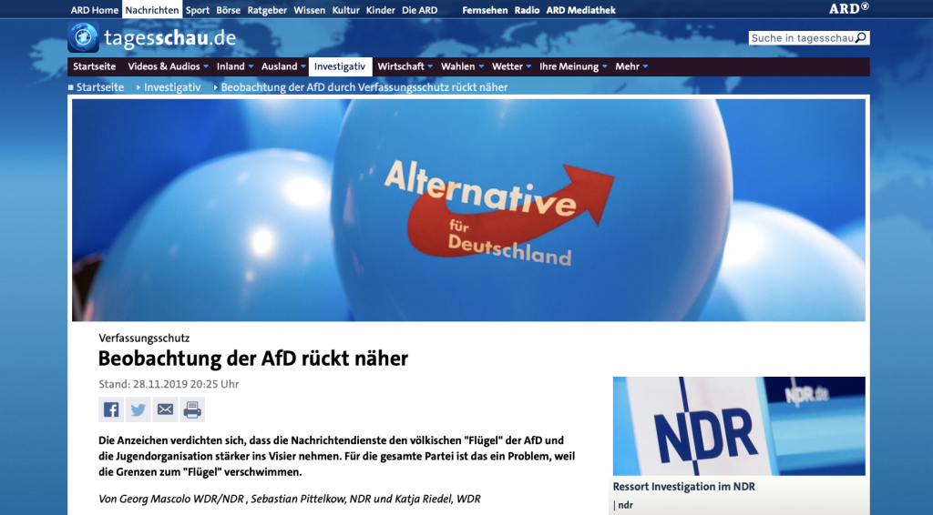 Die ARD veröffentlicht einen durch Auslassung höchst manupulativen Artikel.