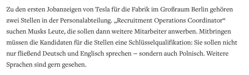 Screenshot: Bericht Welt.de