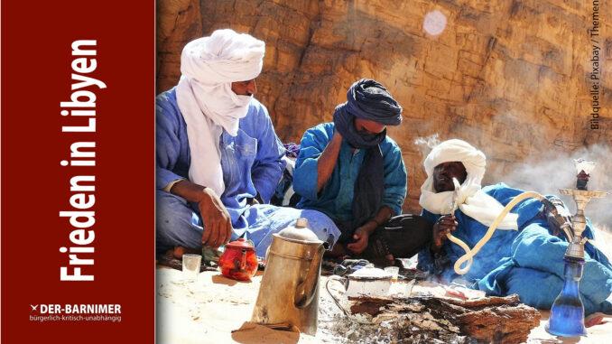 Russen und Türken stabilisieren Libyen