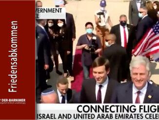 Vereinigte Arabische Emirate Friedensabkommen mit Israel