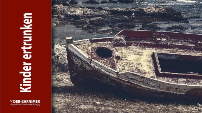 Schlepperboot gesunken
