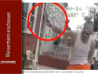 Polizist erschießt Messermann